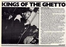 21/3/87pg33 Live Review & Picture, Three Wise Men - Swiss Cottage Windsor Road C