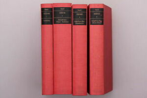 Heinrich Heine Werke in 4 Bänden