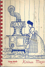 *GOOD HOPE IL 1974 WOMAN'S CLUB COOK BOOK *HOME MADE KITCHEN MAGIC *ILLINOIS