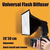 Universal Camera Flash Light Diffuser Softbox Speedlite Portable Camera Tools