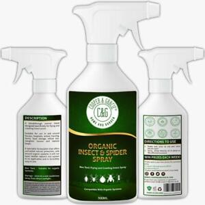 Insect & Spider Spray 500ML Protects Against Flying & Crawling Insects
