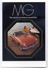 ad1449 - MGB Sports car - modern poster advert postcard