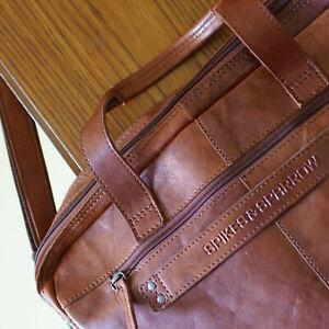 SPIKES & SPARROW - Tasche, Leder, Umhängetasche, Notebooktasche, Bürotasche