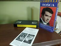 Corelli is Tosca VHS 1997 Caniglia, Guelfi from Bel Canto Society MINT