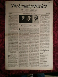 SATURDAY REVIEW April 8 1933 Carl Becker Sidney Hook Samuel Putnam
