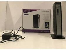 Netgear CG3000Dv2 N450 DOCSIS 3.0 4 Port WiFi Wireless Modem (B)