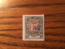 Cal. California State Telegraph 5T2 1870 Stamp Rare Back of Book Revenue