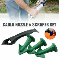 Caulk Nozzle Scraper Set Reusable Caulk Remover Sealing Tool Caulking Kits