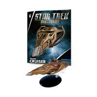 Eaglemoss Star Trek Discovery Vulcan Cruiser Ship Replica NEW IN STOCK