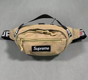 Brand New Supreme khaki Waist Bag Shoulder Bag Fanny Pack Unisex