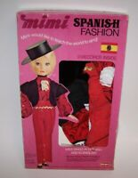 Mimi Spanish Fashion Outfit for Doll  Bonus 2 Little Records Remco Vintage 1973