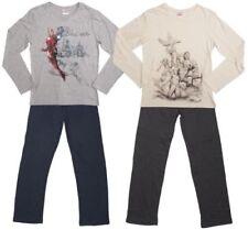Pijamas y batas de hombre de manga larga 100% algodón