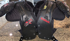 Riddell Power Jpk Shoulder Pads Size L Large 38�-40�/17�-18� - With Back Plate