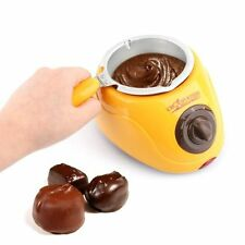 50% OFF Electric Chocolatiere Fondue Chocolate Melting Pot Machine Set