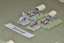 15mm ACW / confederate - 2 wagons - baggage (32838)