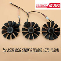 Replacement Cooling Fan T129215SU Parts For ASUS ROG STRIX GTX1060 1070 1080TI
