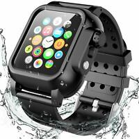 For Apple Watch 4 Series 5 44mm Waterproof Case Protective & Bands iWatch Rugged