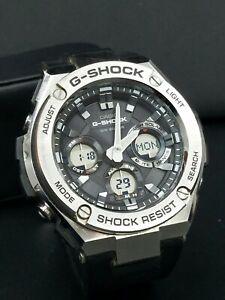 Casio G-Shock GST-S110g Solar Powered Watch Module 5445 Black/Silver