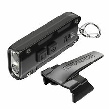 Nitecore Tip Se 700 Lumen Rechargeable Keychain Edc Flashlight Black
