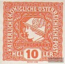 Oostenrijk 215 gestempeld 1916 Krant Brand