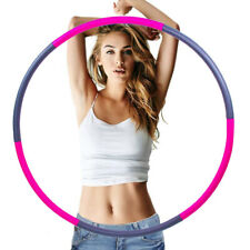 Weighted Fitness Exercise Hula Hoop – 8 Pieces  Detachable and Weighted Design..