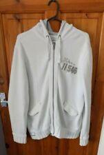 Men's cream zip up hooded jacket XL from Burton