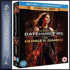 THE HUNGER GAMES & CATCHING FIRE - 2 MOVIE SET  ***BRAND NEW  BLU-RAY ***