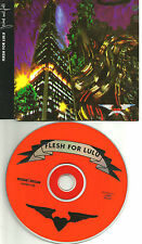 FLESH FOR LULU Decline and Fall w/ Blood Shot Moon UNRELEASED UK CD Single 1989