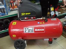 COMPRESSORE AD ARIA FINI 50/SF2450 LT 50  2 ANNI DI GARANZIA lavaggio bici auto