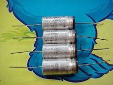 4 X RIFA PEG 124 10uF 350V LONG LIFE AXIAL ELECTROLYTIC CAPACITOR