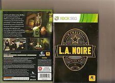 L.A Noire Xbox 360/X Caja 360 juego La Noire Rockstar
