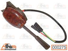 COMMODO de clignotant marron loupe d'orme pour Citroen 2CV & MEHARI  -275-