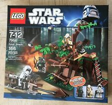 NEW Lego 7956 Star Wars Ewok Attack FACTORY SEALED