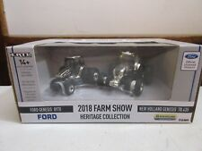1/64 NEW HOLLAND 2018 FARM SHOW SET 8970 T8 435 CHROME CHASER
