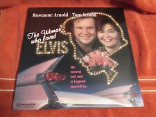 THE WOMAN WHO LOVED ELVIS STARRING ROSEANNE ARNOLD NEW SEALED
