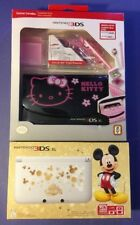 Nintendo 3DS XL Mickey Edition Bundle W/ Hello Kitty Traveller Pack  NEW