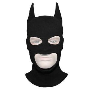 Handmade Batman Bat Fabric Helmet Balaclava Mask Ghost Skull Hood Halloween Prop