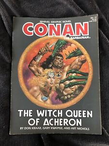 Marvel Graphic Novel Conan The Barbarian The Witch Queen Of Acheron 1985, 19