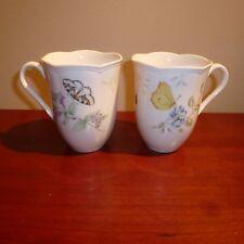 Lenox Butterfly Meadow Mugs, Set of 2