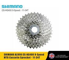SHIMANO ALIVIO CS-HG400 9-Speed MTB Cassette Sprocket - 11-34T