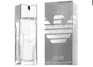 Emporio Armani Diamonds he Eau de Toilette 75ml 100% Genuine Sealed