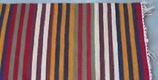 Pottery Barn Keller Rug Rust Red 8x10 Stripe Indoor Outdoor New In Wrapping