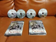 The Chronicles of Narnia - Bbc Box Set (Dvd, 2010, 4-Disc Set) good used see des