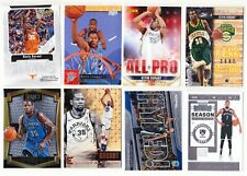 Kevin Durant Various Common & Insert Upper Deck Hoops Prizm 8-Card Lot
