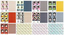 Bargain oriental paper craft kit for card making, scissors needed, 12 sheets