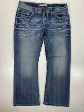 Buckle BKE Denim Culture Bootcut Stretch Womens Size 30 Jeans Crop Cropped