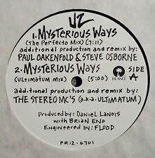 "U2 - Mysterious Ways, 5 Song Remix Promo 12"" Vinyl, USA, UNPLAYED !"