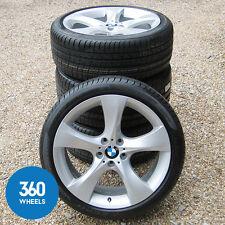 """NEW GENUINE BMW X3 X4 20"""" 311 M SPORT STAR SPOKE ALLOY WHEELS TYRES F25 F26"""