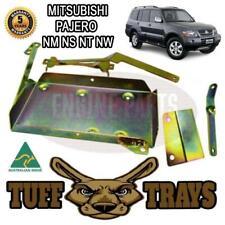 Tuff Trays Dual Battery Tray Mitsubishi Pajero NM NP NS NT NW Petrol And Diesel