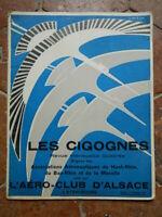 Revue LES CIGOGNES l'Aéro-Club d'Alsace Strasbourg N°70 Janvier 1937